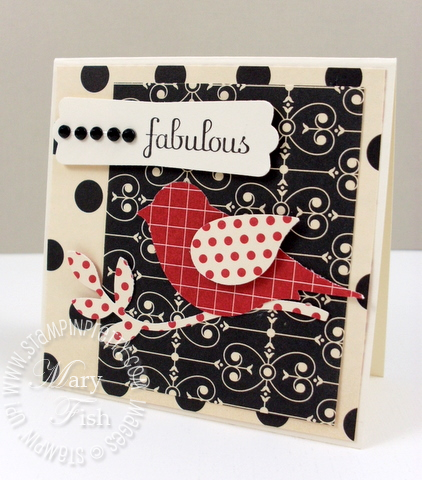 Stampin up two step extra large bird punch