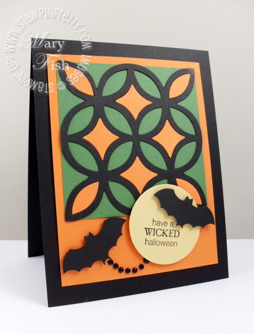 Stampin up pals paper arts halloween card