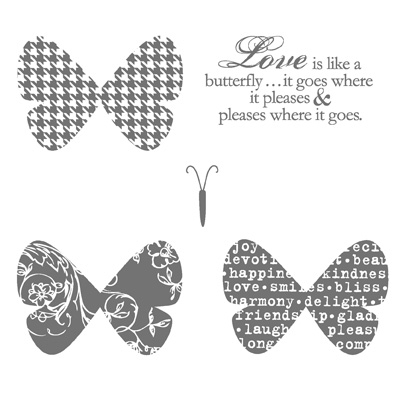 Butterfly prints stampin pretty