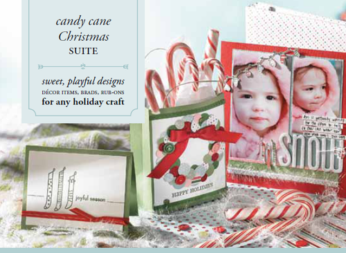 Stampin up stampin pretty candy cane christmas suite