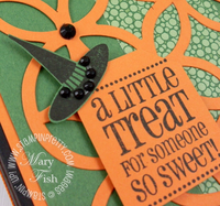 Stampin up halloween got treats