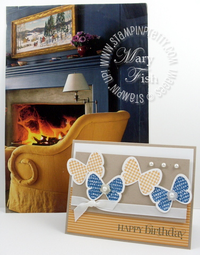 Stampin up home decor magazine inspiration