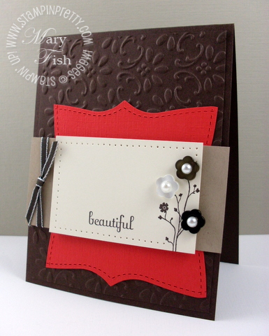 Stampin up pals paper arts silhouette sentiments