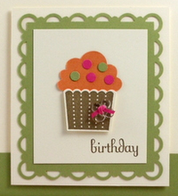 Stampin up cupcake punch video scallop border video tutorial close