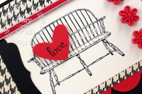 Stampin up mojo monday have a seat loveseat