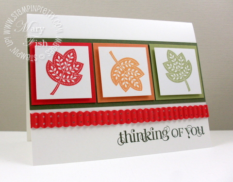 Stampin up pals paper arts video tutorial