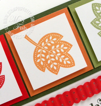 Stampin up pals paper arts video tutorial day of gratitude