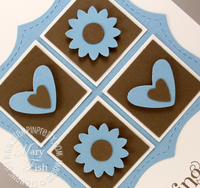 Stampin up boho blossoms punch stampin pretty