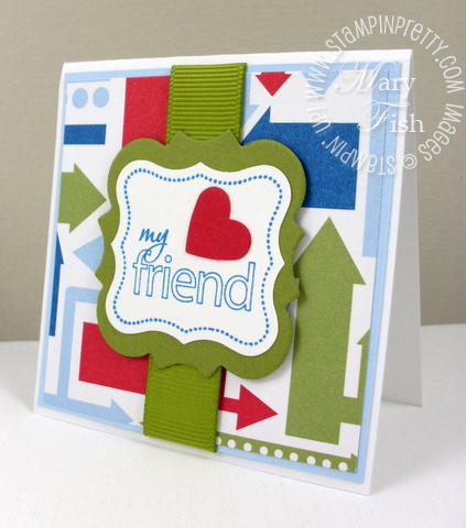 Stampin up perfect punches my friend