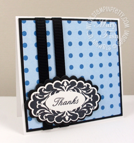 Stampin up perfect punches thanks