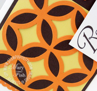 Stampin up bigz lattice die big shot video tutorial