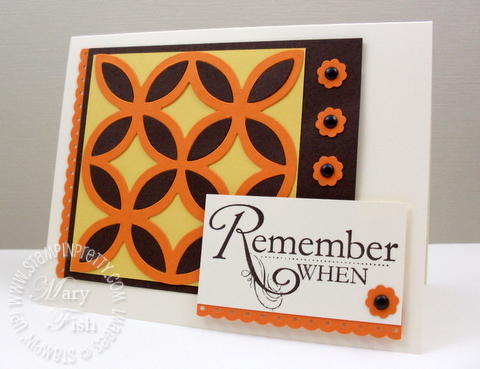 Stampin up lattice bigz die big shot