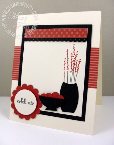 Stampin up pals paper arts stem silhouettes