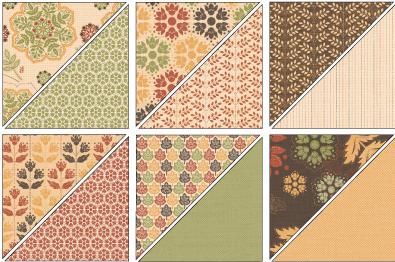 Autumn spice designer series paper