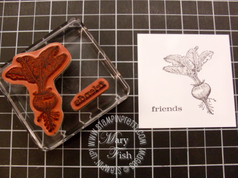 Stampin up video tutorial homegrown clear block