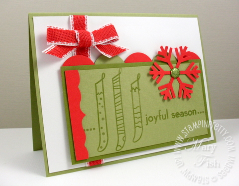Stampin up mojo monday holiday mini catalog letterpress