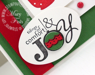Stampin up pals paper arts word play holiday card
