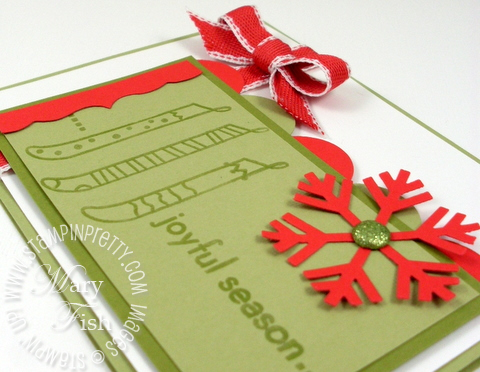 Stampin up stampin pretty mojo monday letterpress