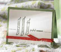Joyful season sample stampin pretty