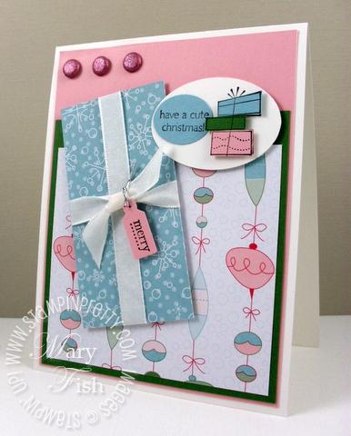 Stampin up mojo monday a cute christmas card