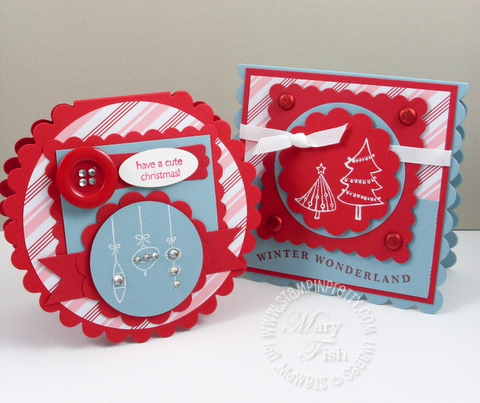 Stampin up a cute christmas holiday mini catalog