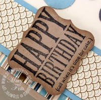 Stampin up curly label punch afterthoughts