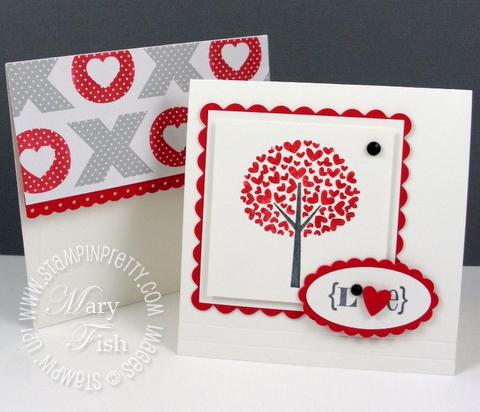 Stampin pretty valentine defined occasions mini catalog