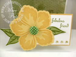 Stampin up build a blossom punch fabulous phrases