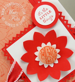 Stampin up fancy flower punch video tutorial