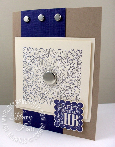 Stampin up fine flourish saleabration punch bunch