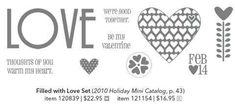 Filled with love stampin pretty