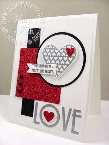 Stampin up mojo monday filled with love stampin pretty