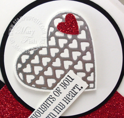 Stampin up mojo monday filled with love valentine