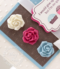 Stampin up occasions mini catalog vintage flower adornments