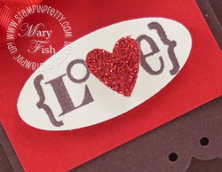 Stampin up valentine defined heart punch paper video tutorial