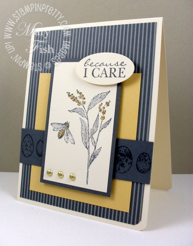 Stampin up nature walk sympathy card pals paper arts