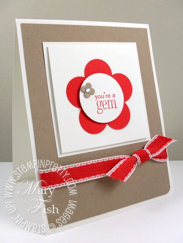 Stampin up occasions mini catalog youre a gem