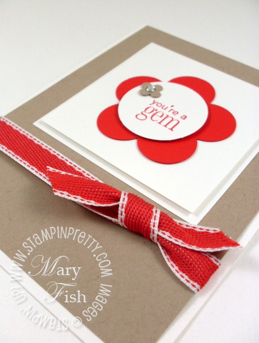 Stampin up occasions mini catalog fancy flower punch