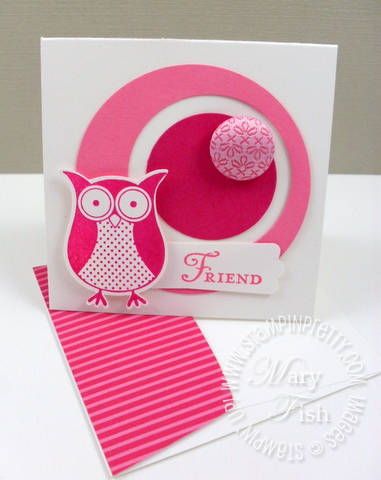 Stampin up saleabration owl punch bunch video tutorial