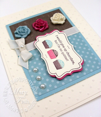 Stampin up eat chocolate mojo monday video tutorial