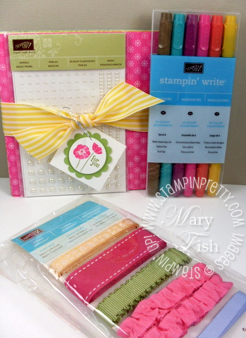 Stampin up blog candy