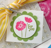 Stampin up blog candy punch bunch saleabration