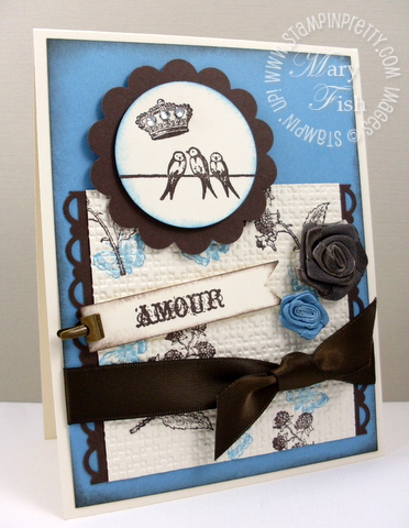 Stampin up mojo monday clearly for you