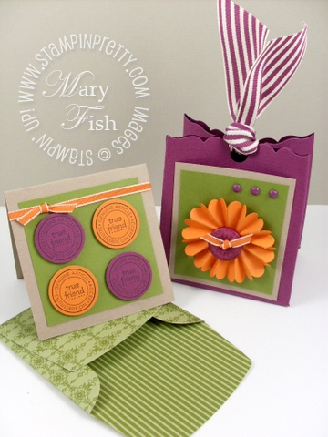 Stampin up pals paper arts color coach video tutorial saleabration