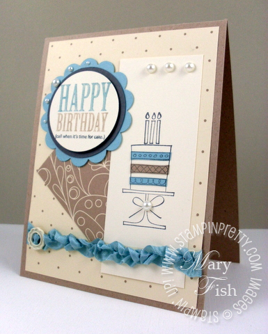 Stampin up mojo monday a slice of life afterthoughts