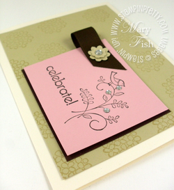 Stampin up saleabration sweet summer tutorial