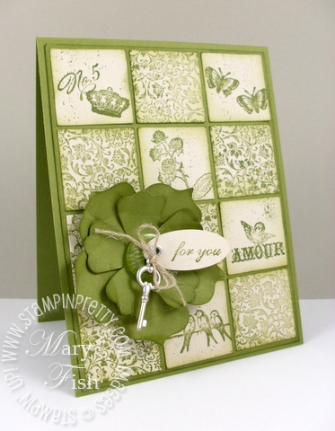 Stampin up pals paper arts clearly for you video tutorial