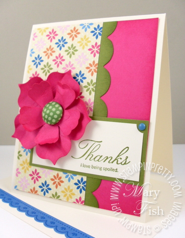 Stampin up afterthoughts saleabration ice cream designer series paper