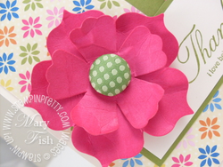 Stampin up fun flower bigz die big shot