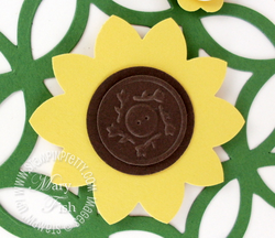 Stampin up mojo monday fancy flower punch video tutorial